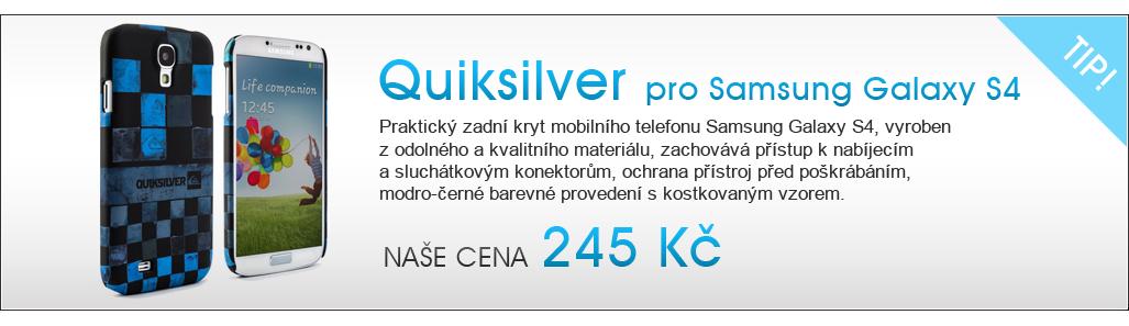 Zadní kryt QUIKSILVER pro Samsung Galaxy S4