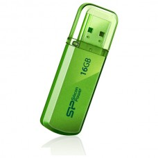 USB flash disk Silicon Power Helios101, 16GB, USB 2.0, zelený