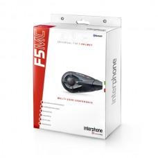 Bluetooth handsfree pro uzavřené a otevřené přilby CellularLine Interphone F5MC