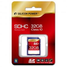 Paměťová karta Silicon Power SDHC Class 10, 32GB