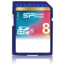 Paměťová karta Silicon Power SDHC Class 10, 8 GB