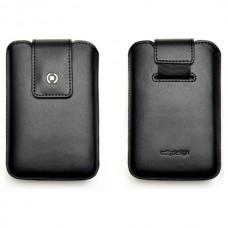 Pouzdro kožené CELLY ILUX, velikost M - BlackBerry 8520, černé